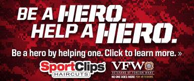 Sport Clips Haircuts of Spartanburg ​ Help a Hero Campaign